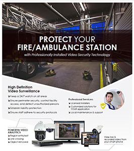 Fire/Ambulance Station Security Solutions